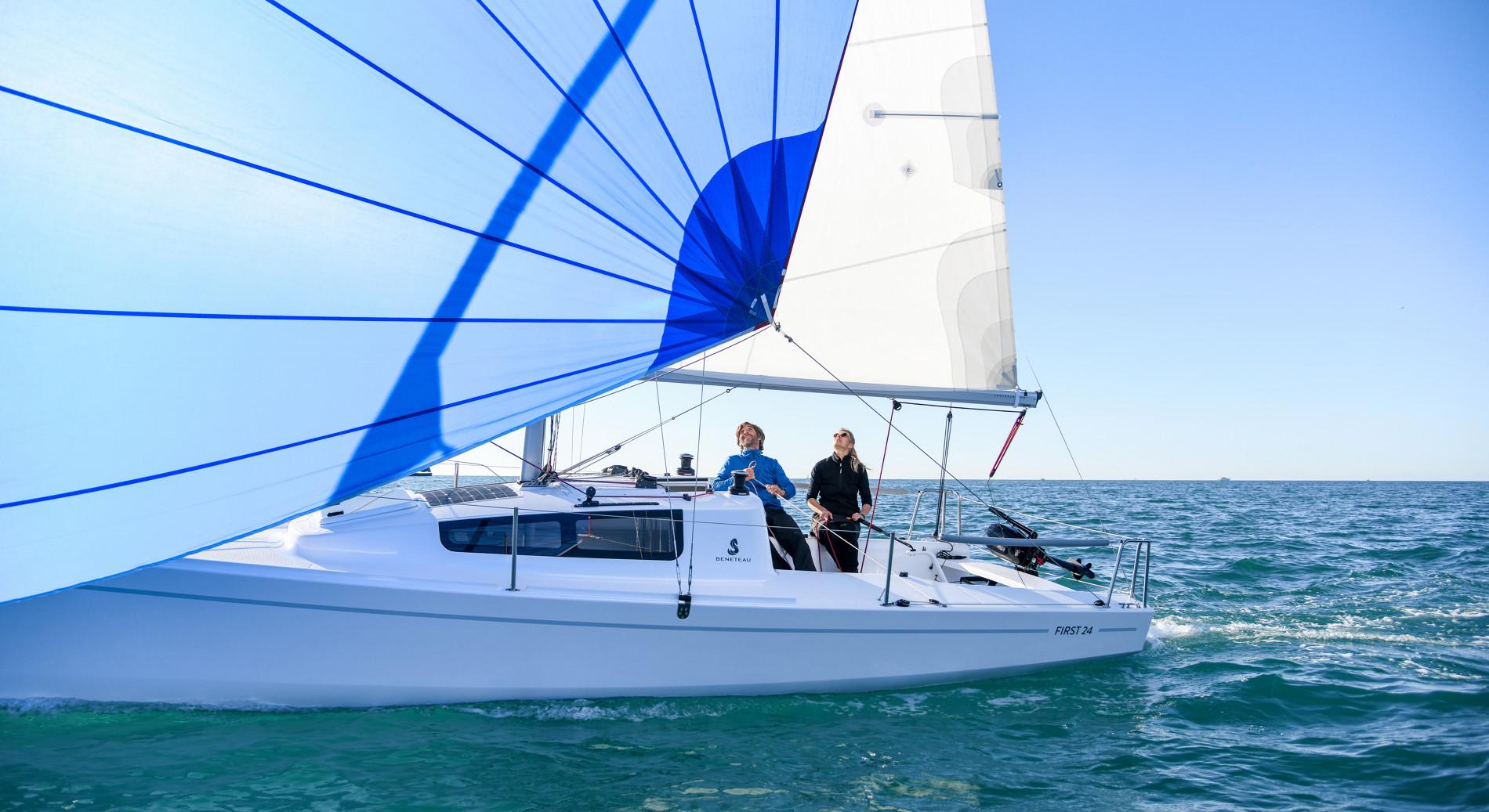 Oceanis 30.1 ja Suomen ensiesittelyyn tuleva First 24 mukana veneiden koeajotapahtumassa!